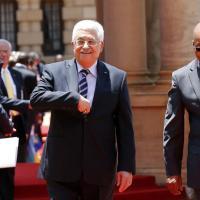 Afrique du Sud: Le Président palestinien accueilli en chef d'Etat