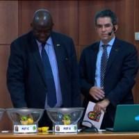 CAN 2015: Discours du Président de la CAF Issa Hayatou et les poules du tirage au sort de la CAN orange, Guinée-Equatoriale