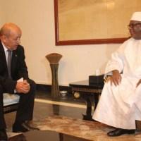 Mali: Visite de Jean-Yves Le Drian, ministre français de la défense