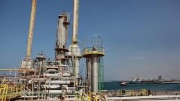 un terminal petrolier en libye