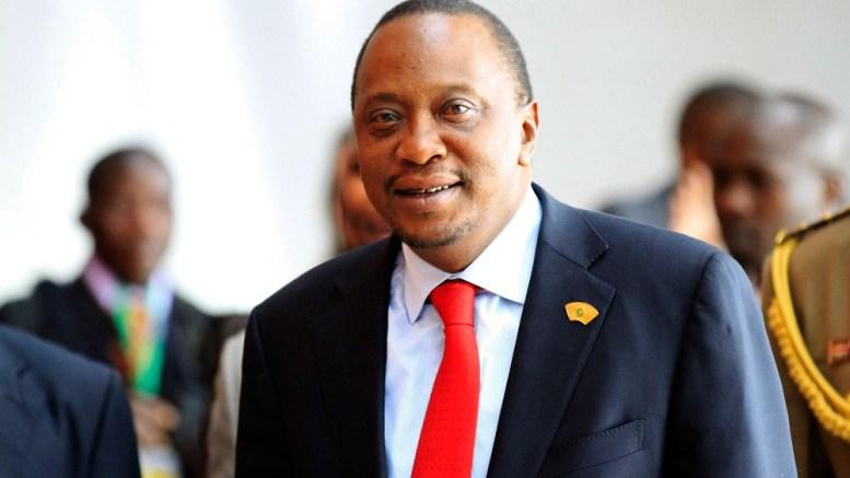 Uhuru Kenyatta, président du Kenya