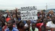 Les opposants ivoiriens dans la rue