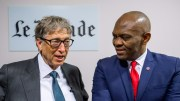 Tony O. Elumelu et Bill Gates au Club de l'Economie