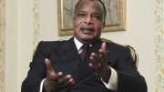 Denis Sassou Nguesso à Brazzaville