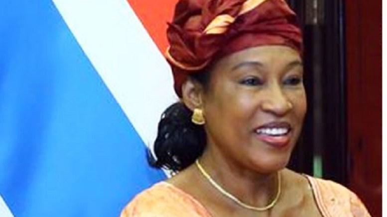 Neneh Macdouall Gaye, ministre gambienne des affaires étrangères