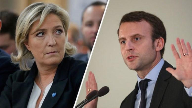Le Pen et Macron