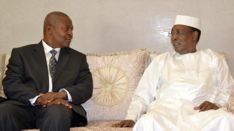touadéra en visite au Tchad