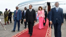 Paul et Chantal Biya