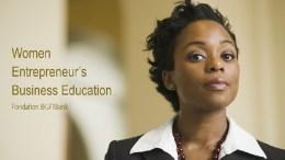 Women Entrepreneurs Business Education