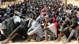 Des esclaves vendus en Libye