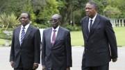 Emmerson Mnangagwa rend hommage à Robert Mugabe