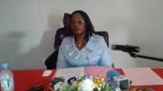 Estelle Ondo et les mandateurs du CGC