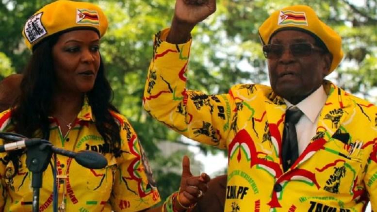 Fin de Robert Mugabe