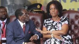 Robert et Grace Mugabe