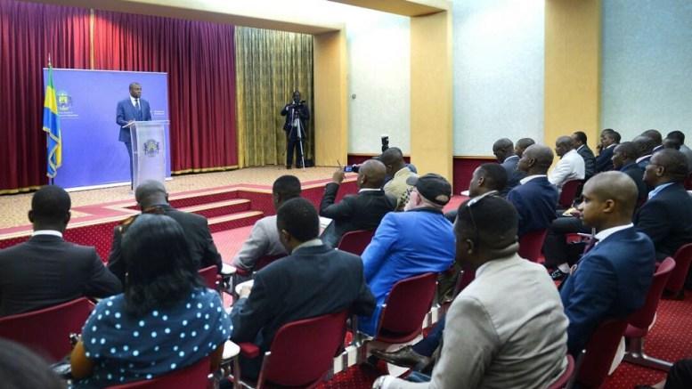 Conférence de presse du porte-parole de la présidence de la République, Ike Ngouoni Aila Oyouomi