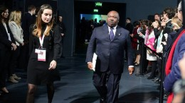 Le président Ali Bongo Ondimba au One Planet Summit