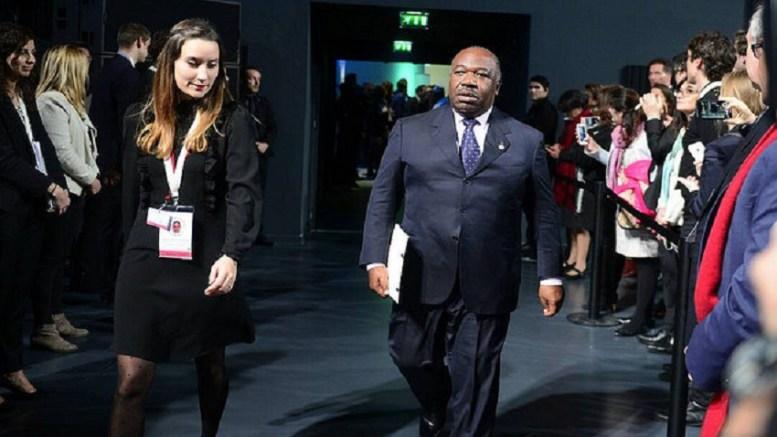 Le président Ali Bongo Ondimba au One Planet Summit