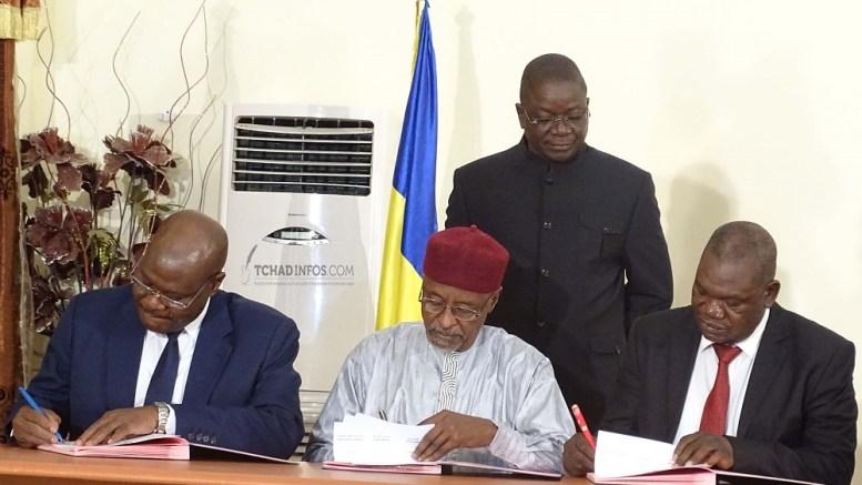 Le gouvernement tchadien signe pour les salaires