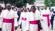 Marche des catholiques pour le départ de Kabila