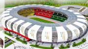 La maquette du stade Paul Biya
