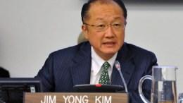 Le président de la Banque mondiale, Jim Yong Kim