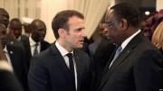 Macky Sall et Emmanuel Macron au forum Mondial de l'éducation