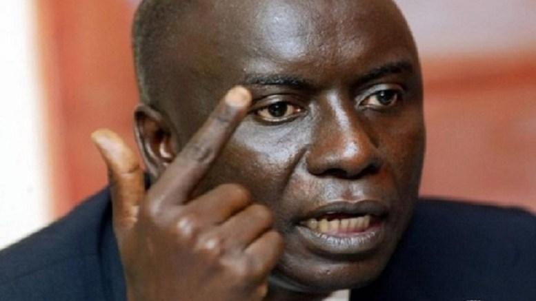 Idrissa Seck charge