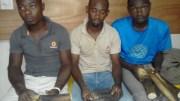 Les trois trafiquants d'ivoire interpellés à Libreville