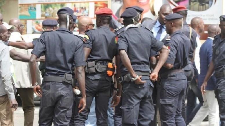 la police arrête un terroriste