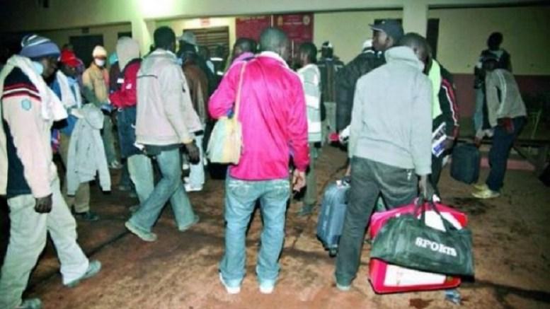 Expulsion des africains des Etats-Unis