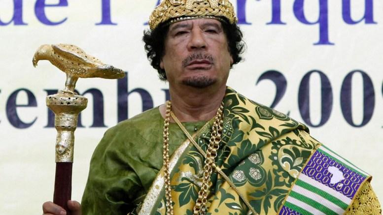 L'argent de Khadafi