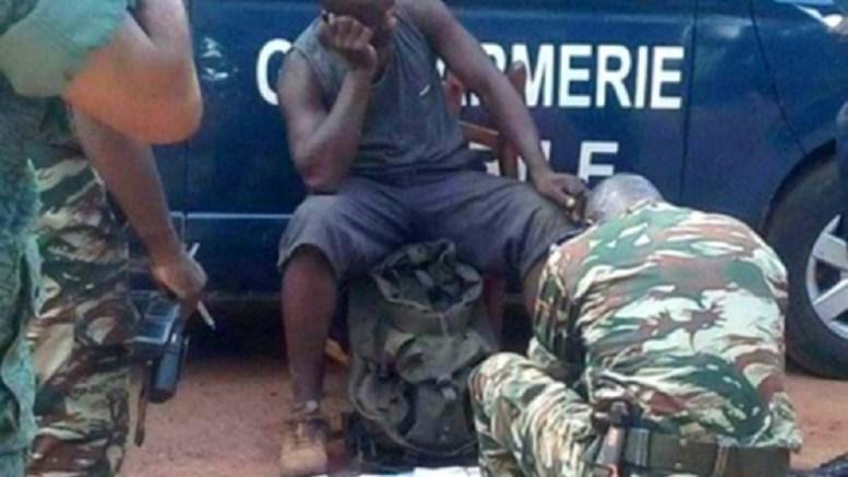 Le casque bleu interpellé pour vente de munitions