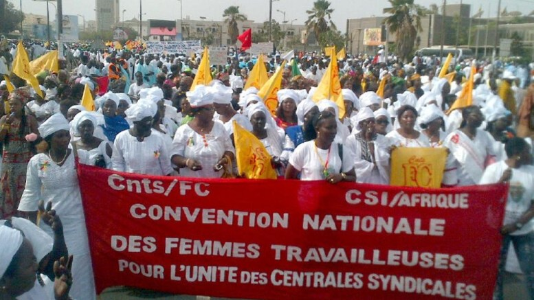 Les femmes travailleuses sénégalaises