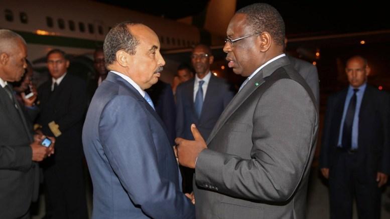 Macky Sall et Ould Abdelaziz