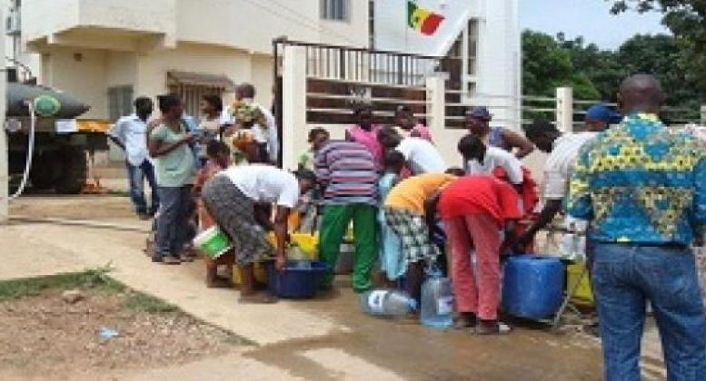 Dakarsans l'eau pendant cinq jours