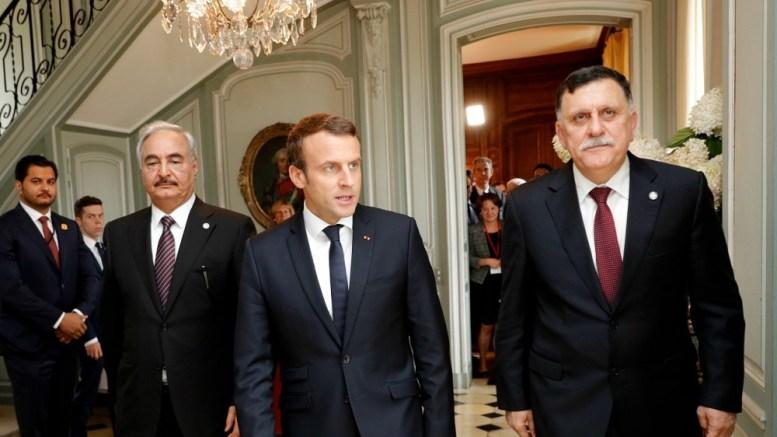 Emmanuel Macron et la Libye