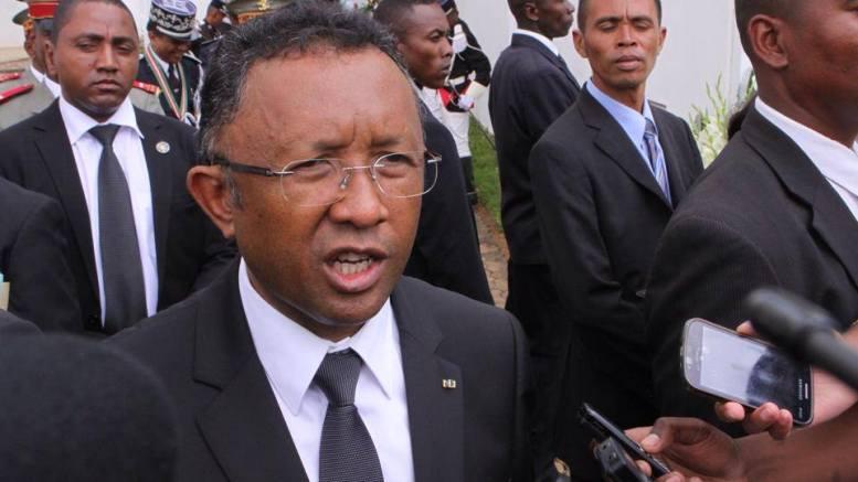 Hery Rajaonarimampianina, le président malgache