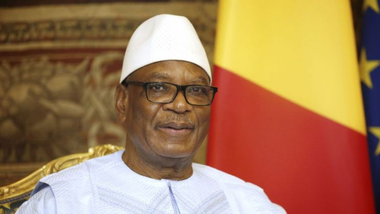 Ibrahim Boubacar Keïta, candidat
