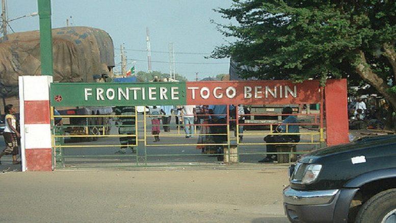 La frontière Bénin - Togo