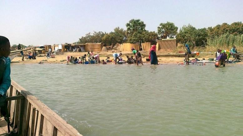 Le lac Tchad