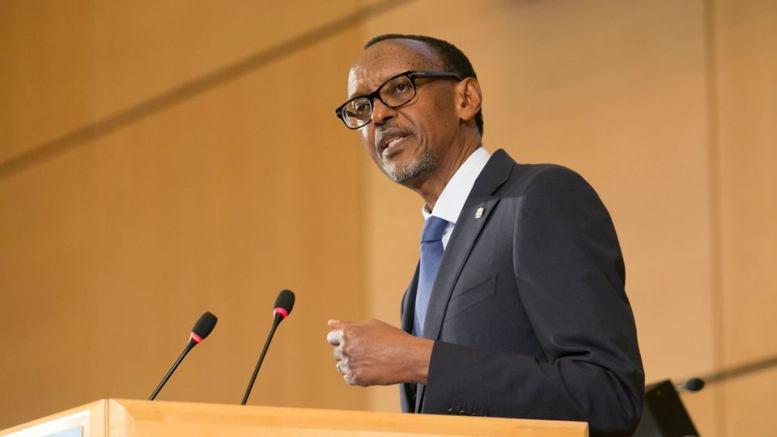 Paul Kagame, le président en exercice de l'UA