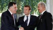 ghassan Salame Réunion sur la Libye autour de Macron
