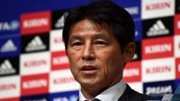 Akira Nishino , le sélectionneur du Japon
