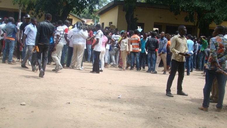 Ambiance à la gendarmerie du Bacongo