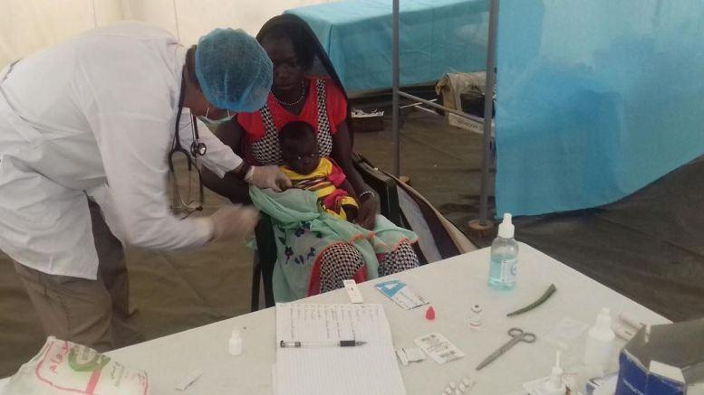 Des médecins russes en Centrafrique