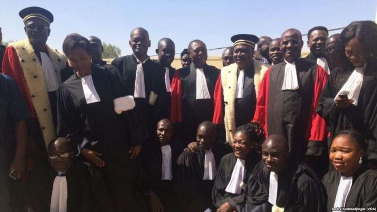 Les avocats tchadiens