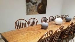Les meubles fabiqués à partir du bois gabonais (Gabon Wood Show)