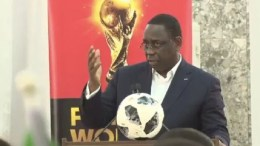 Macky Sall aux Lions