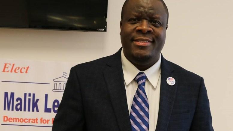 Malik Lendzondzo, candidat