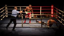 Taylor Mabika remporte face à l'Albanais Nuri Seferi